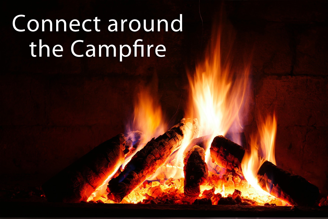 Connect around the campfire at Haid's Hideaway Family Campground