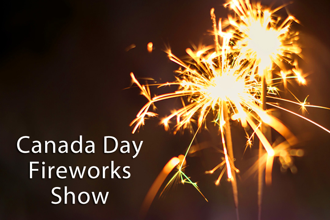 Celebrate Canada Day with Fireworks at Haid's Hideaway Family Campground