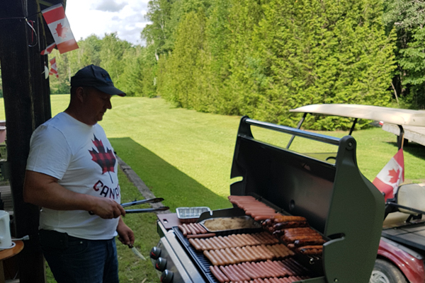 Cooking up a Feast for Canada Day at Haid's Hideaway!