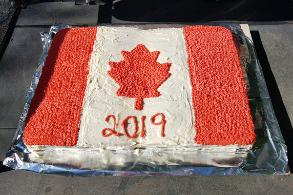 Happy Canada Day from Haid's Hideaway Family Campground